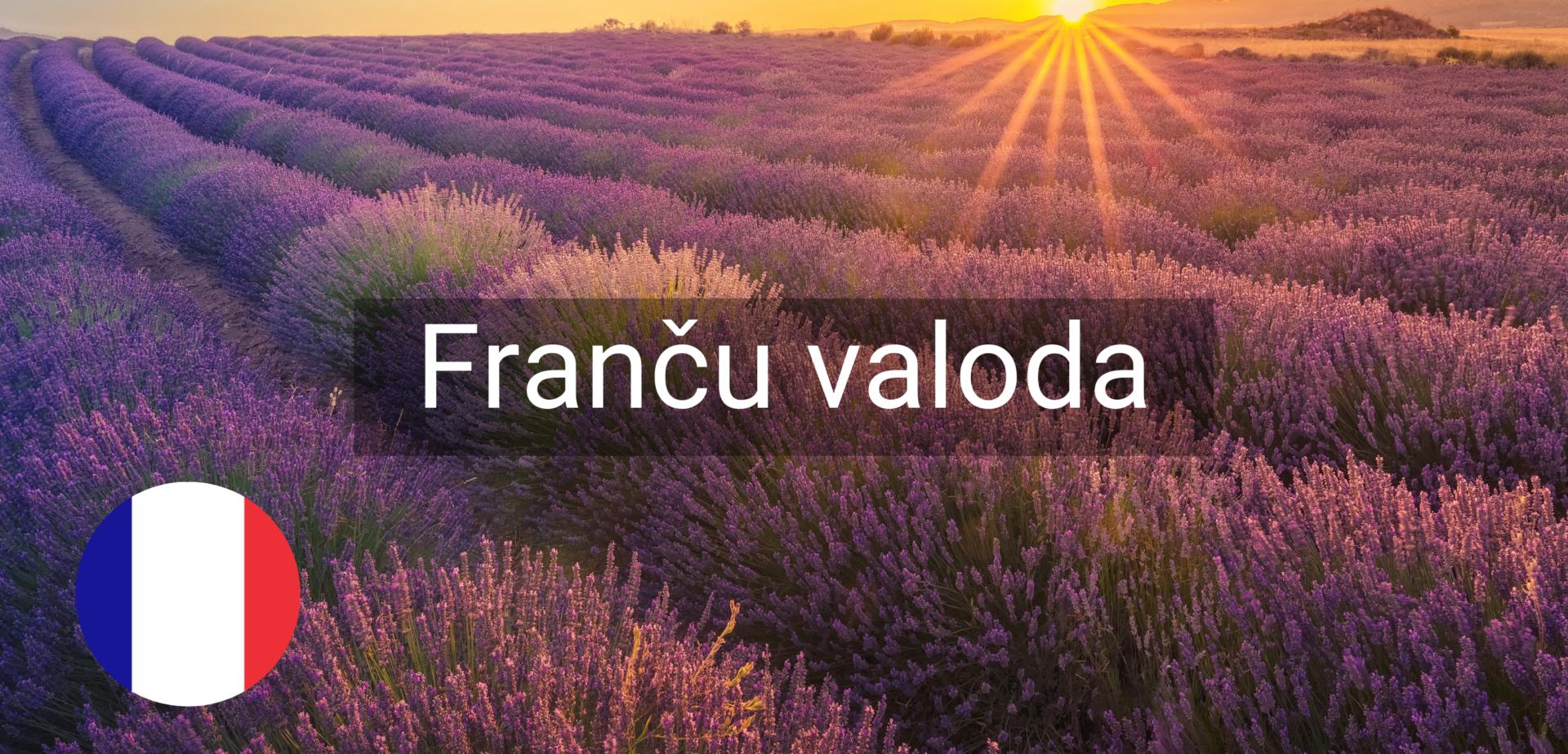 Francu valodas kursi valmiera vidzeme