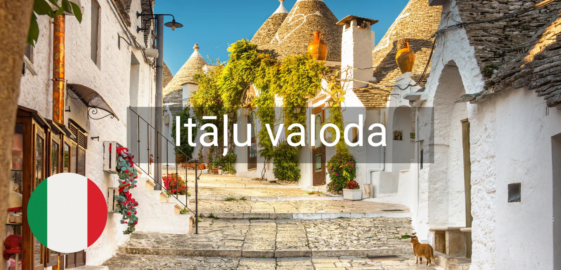 Itāļu valodas kursi valmiera vidzeme online