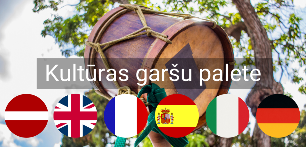 Kulturas Garsu Palete pasakums valmiera valodu kursi