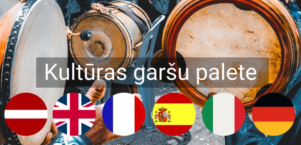Kulturas Garsu Palete pasakums valmiera vidzeme