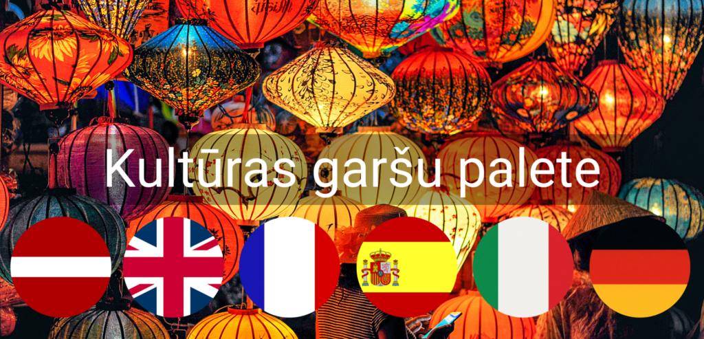 Kulturas Garsu Palete pasakums valmiera vidzeme Valodu apguve