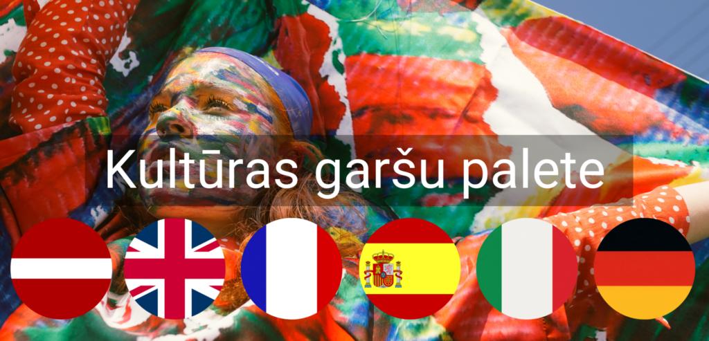Kulturas Garsu Palete pasakums valmiera vidzeme valodu kursi