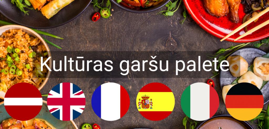 Kulturas Garsu Palete pasakums valodu kursi apguve online