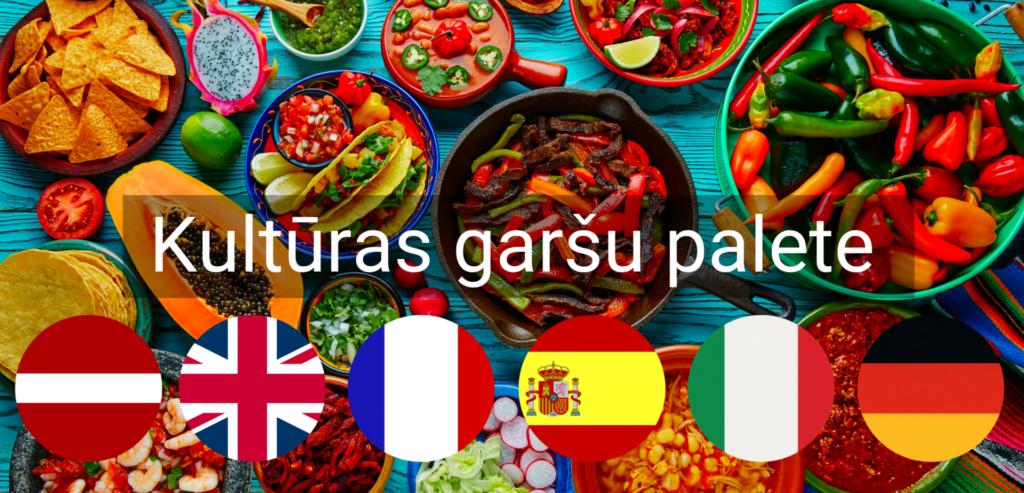 Kulturas Garsu Palete pasakums valodu kursi valmiera
