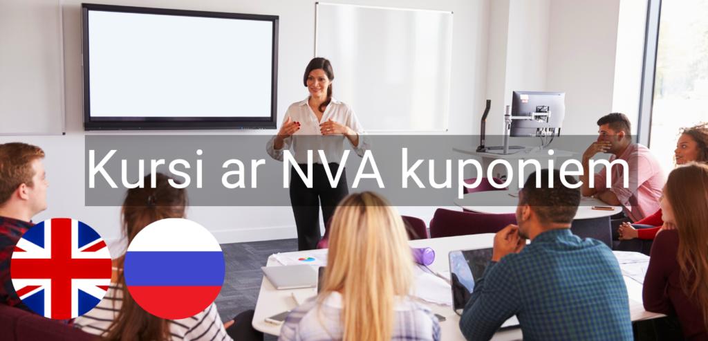 Valodu kursi Valmiera Valodu mape NVA kuponi bezdarbnieku kursi intensīvie svešvalodu kursi online zoom2
