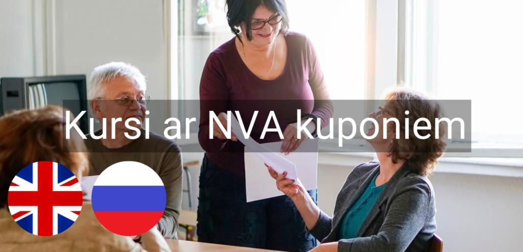 Valodu kursi Valmiera Valodu mape NVA kuponi bezdarbnieku kursi intensīvie svešvalodu kursi online zoom4